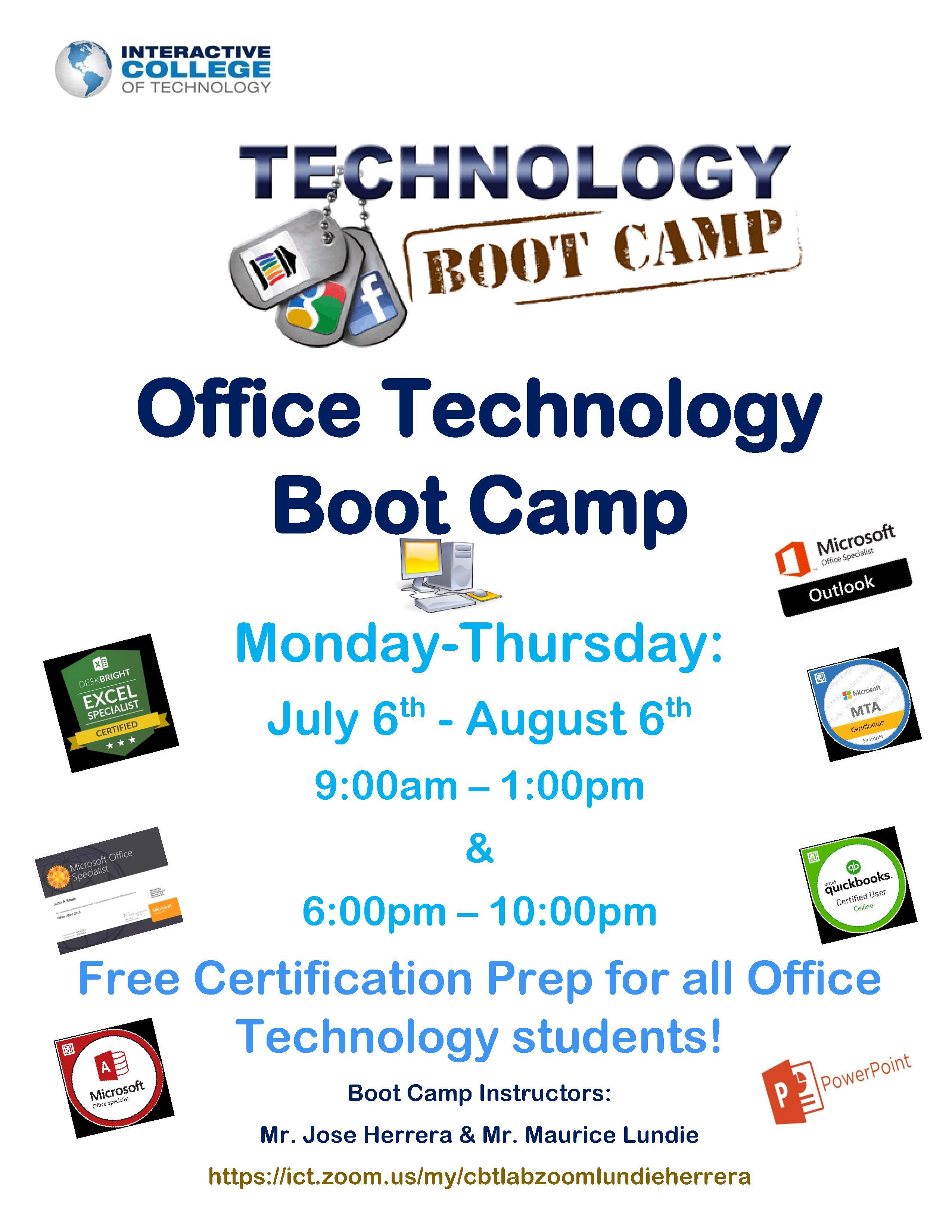 Chamblee OT Boot Camp